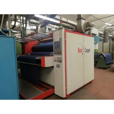 Ref.499 - Continuous decatizing machine under pressure brand RED CARPET year 2013 working width 1800 mm with VIDEO